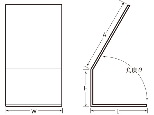 エアロゾルスタンド(簡易版エアロゾルボックス)の形状