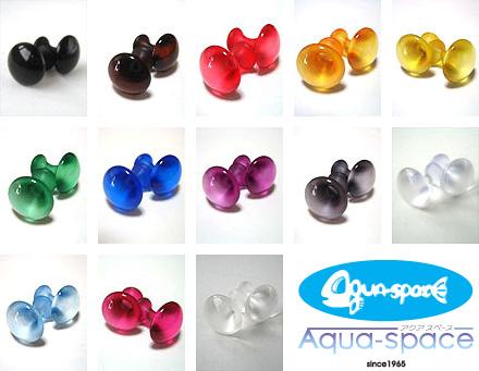 aquaspaceブランド クリアカフスボタン カラーバリエーション