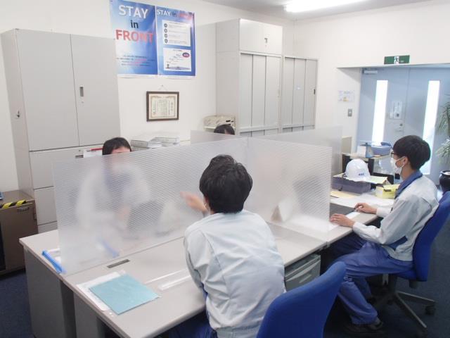飛沫感染対策パーテーション