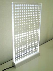 LEDイルミネーション アクリル看板